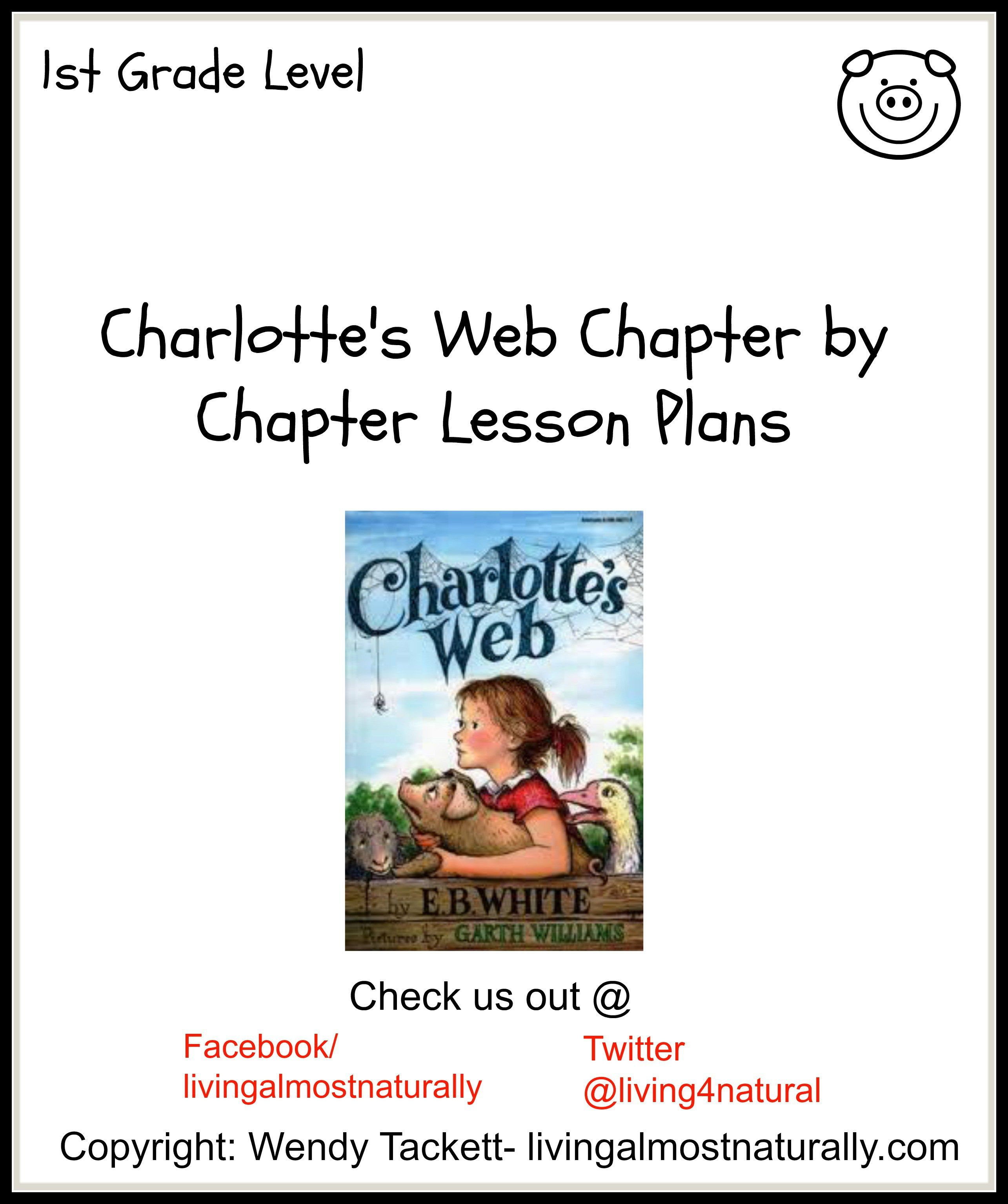 Charlottes Web Chapter By Chapter Lesson Plans