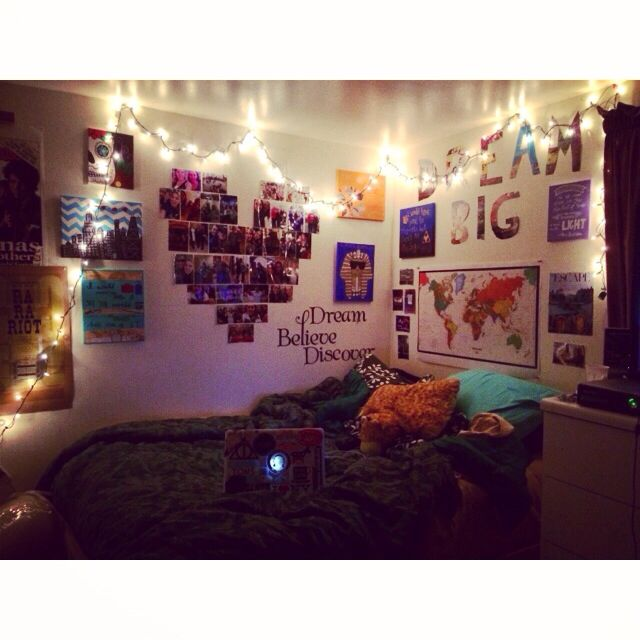 Do It Yourself Bedroom Ideas Picture Heart Christmas Lights And