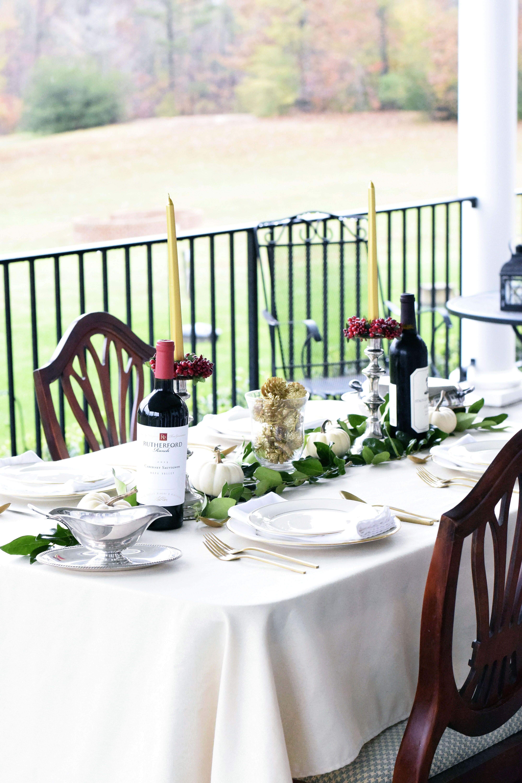 Outdoor Thanksgiving Tablescape   Outdoor thanksgiving ...
