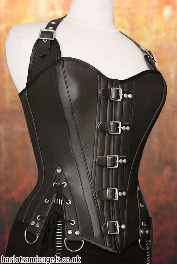 PDF Corset Sewing Pattern. Steampunk, Gothic, Larp. MEDIUM. Full ...