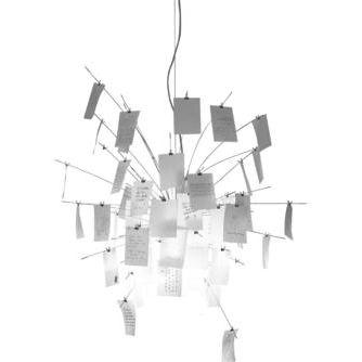 Lampadario Zettel\'z 6 di Ingo Maurer | Lampade | Lamps | Pinterest