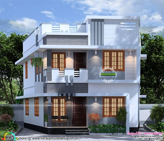 Kerala Home Design And Floor Plans In 2019