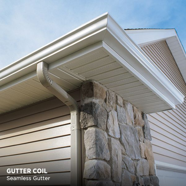 A Gutter That Looks Like Crown Molding Whaaaat House