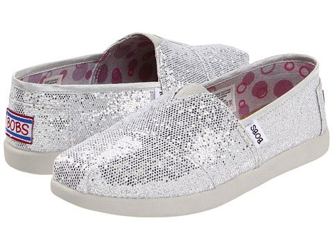 bobs silver glitter shoes off 50% - www