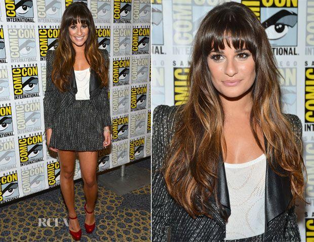Lea Michele In Stella & Jamie – 'Glee' Panel: Comic-Con 2012