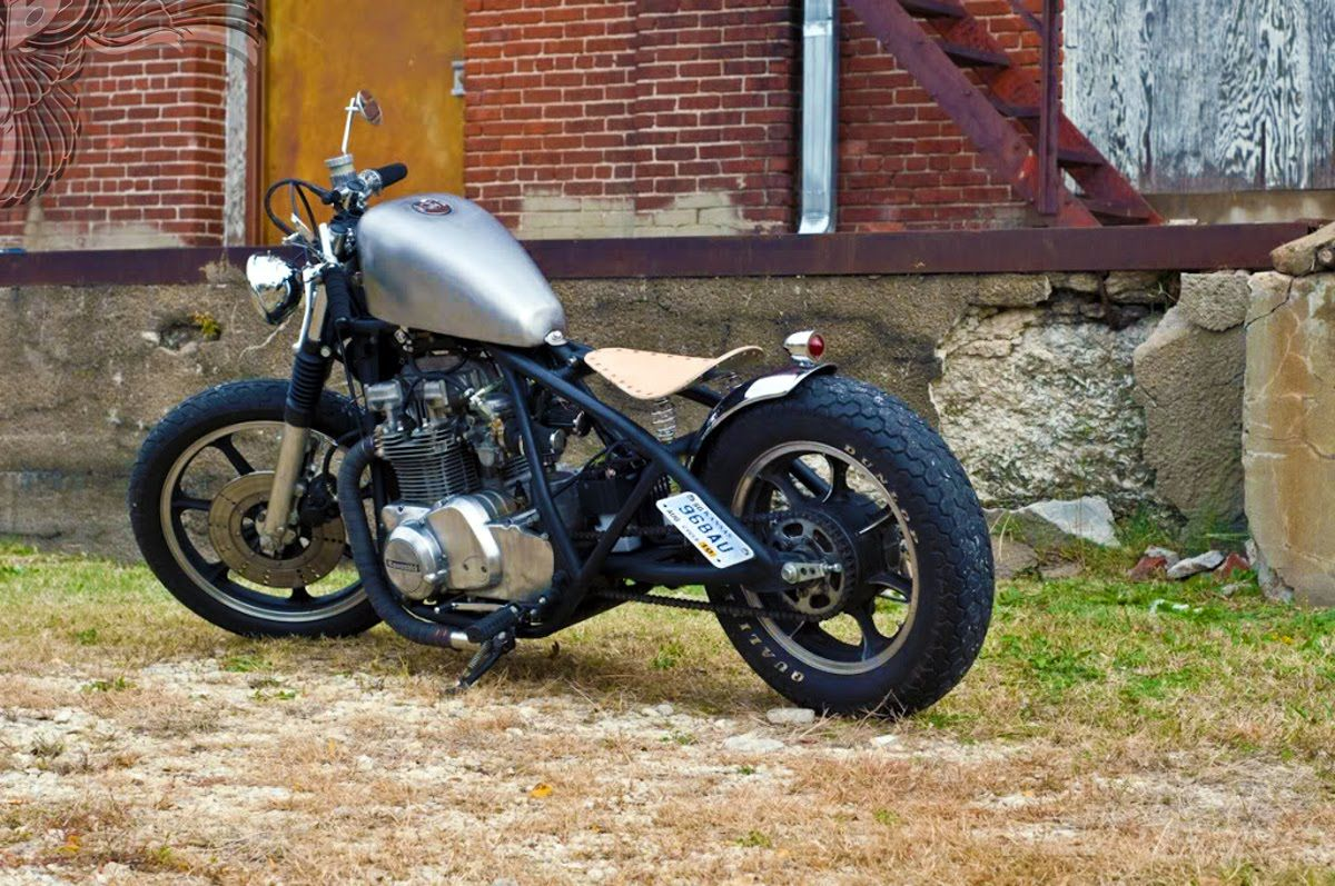 cafe racer parts |  yamaha metric bobbers, choppers, cafe