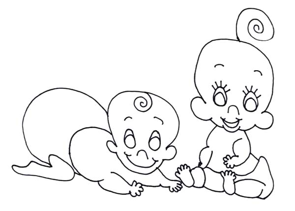 Twin Babies Coloring Pages Bulk Color Baby Coloring Pages Coloring Pages Twin Babies