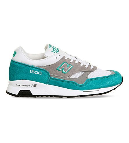 NEW BALANCE M1500 mesh and suede trainers. #newbalance #shoes #trainers