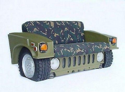 Furniture From Old Car Parts For Man Cave Manassas Lindsay Manassas Chrysler Dodge Jeep Ram Car Part Furniture Car Furniture Car Sofa
