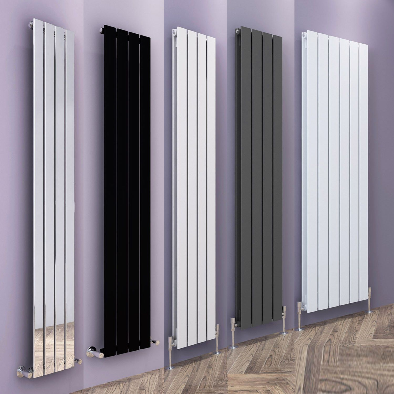 Designer Radiators Vertical Flat Panel Tall Upright Central Heating Rads Uk Radiators Living Room Designer Radiator Flat Radiators