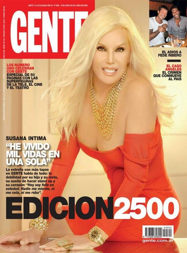 Gente es parte de mi historia y yo de la de ella salir en for Revistas argentinas de farandula