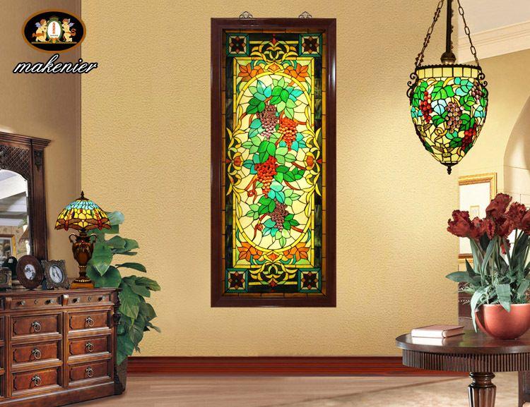 stained glass wall art - Google Search | Glass wall art | Pinterest ...