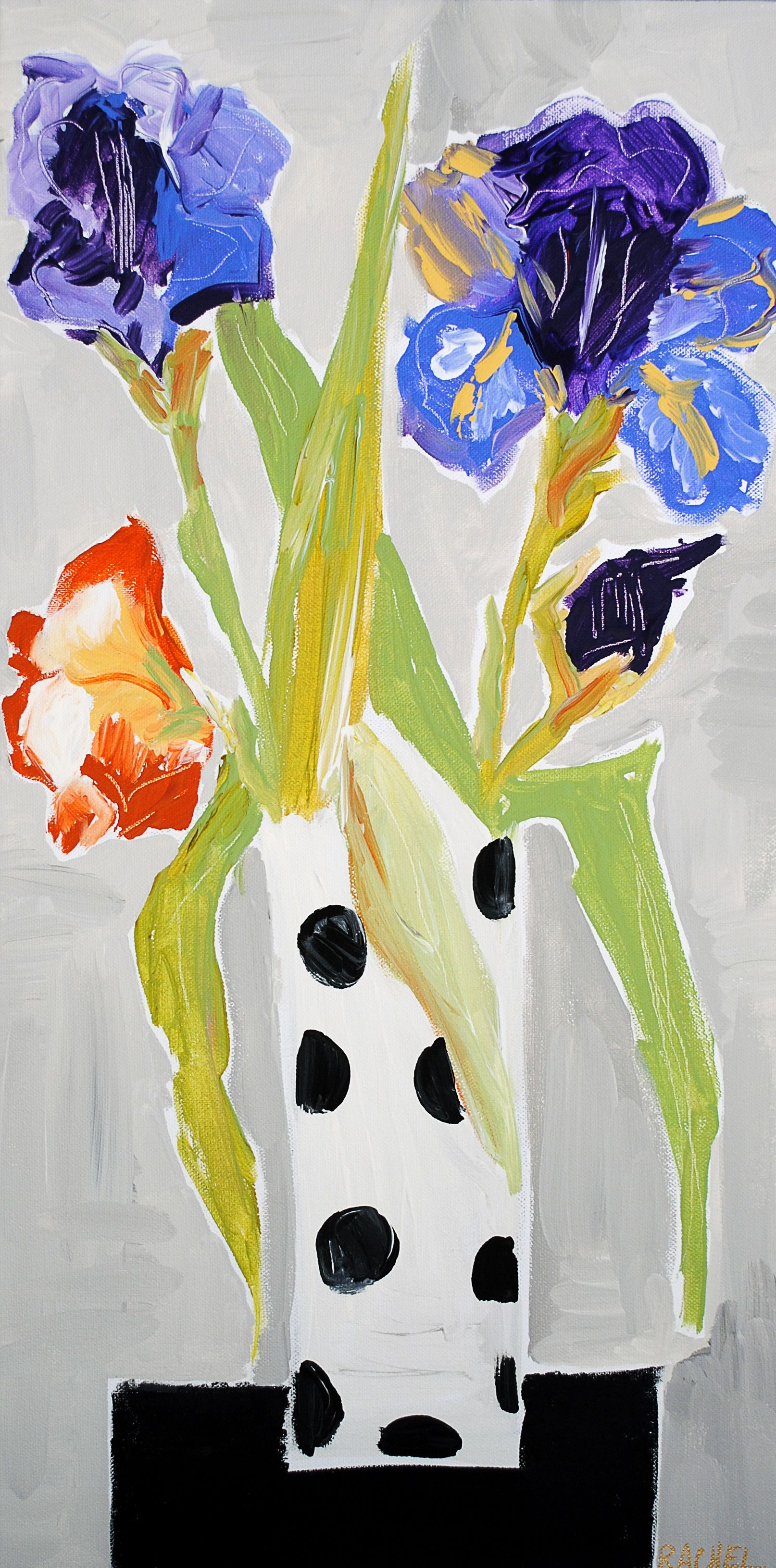 Iris flower painting byrachel cordaro painting pinterest iris flower painting byrachel cordaro izmirmasajfo