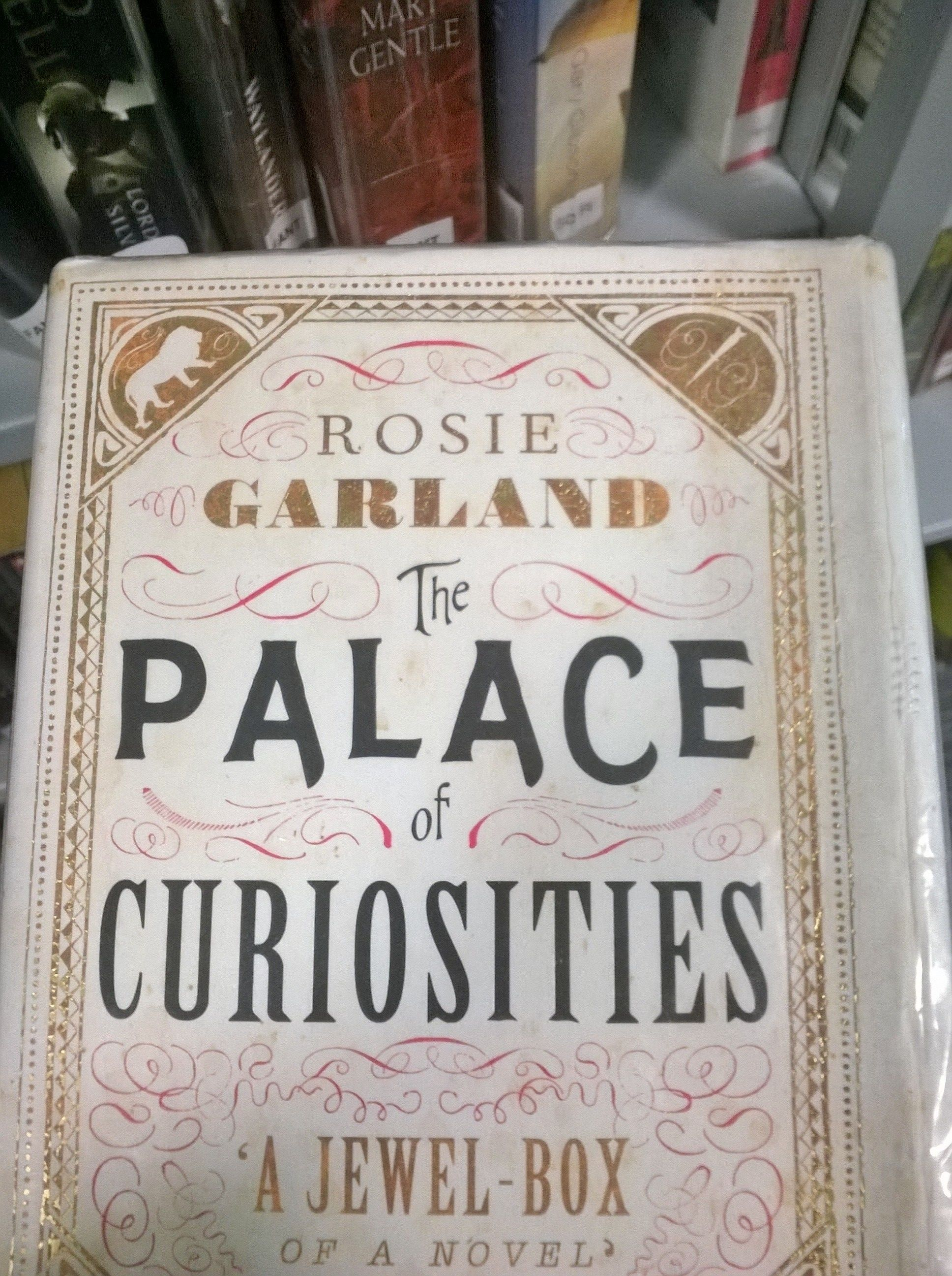 The Palace Of Curiosities By Rosie Garland Library Angela