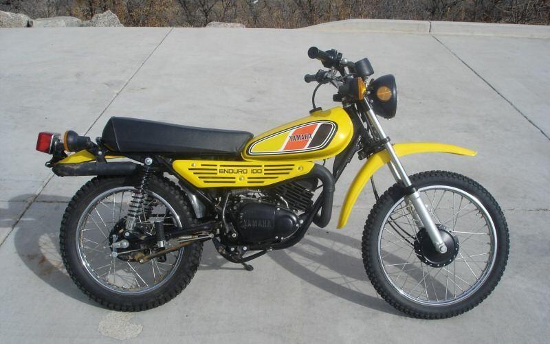 1977 Yamaha Dt100 Yamaha Enduro Motorcycle Mini Bike