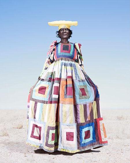 "Workshop ""Wool bulb"" - Photos hereros tribe of Namibia."