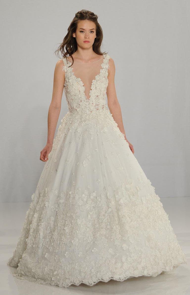 Os vestidos de noiva Tony Ward para Kleinfeld no NY Bridal Week ...