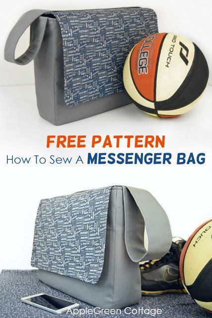 Messenger Bag Pattern - Sewing Tutorial #bagpatterns