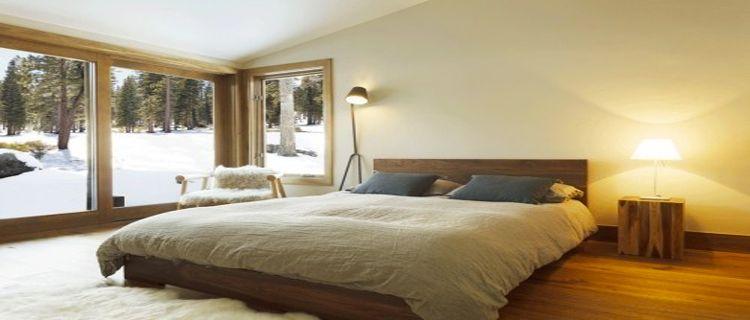Chambre taupe et couleur lin, idées déco ambiance zen | Salons and ...