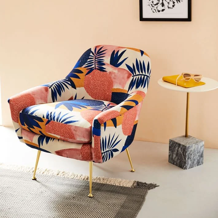 How To Choose The Right Upholstery Fabric In 2020 Patterned Chair Comfy Chairs Furniture