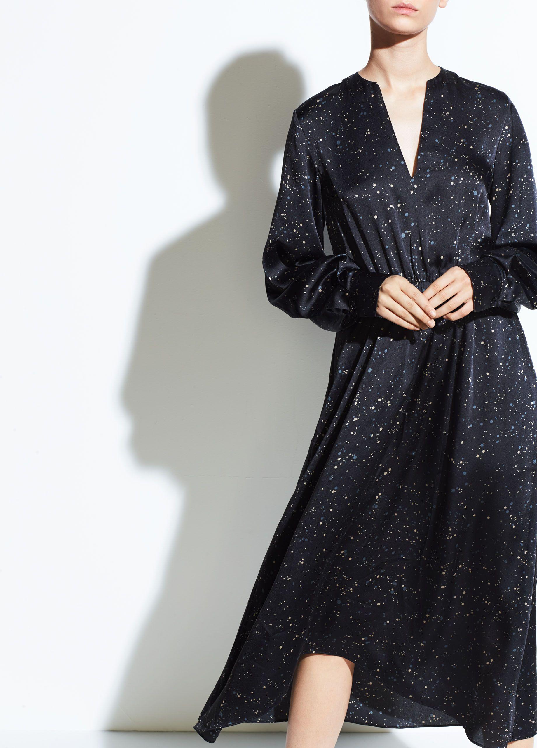 Sites Vince Site Vince Womens Dresses Dresses Long Sleeve Dress [ 2560 x 1840 Pixel ]