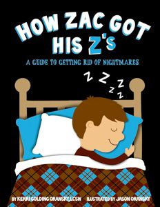 A guide to getting rid of nightmares. Kid's book.