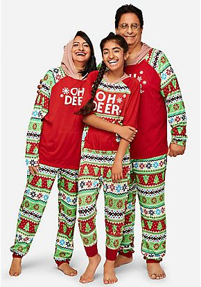 4cd90bdc61 family pajamas matching holiday pj sets justice. hot christmas ...