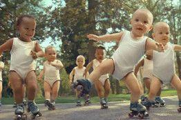 babies on skates :)