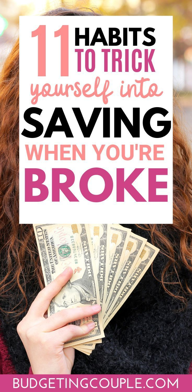 11 Ways To Trick Yourself Into Saving Money #geniusmomtricks