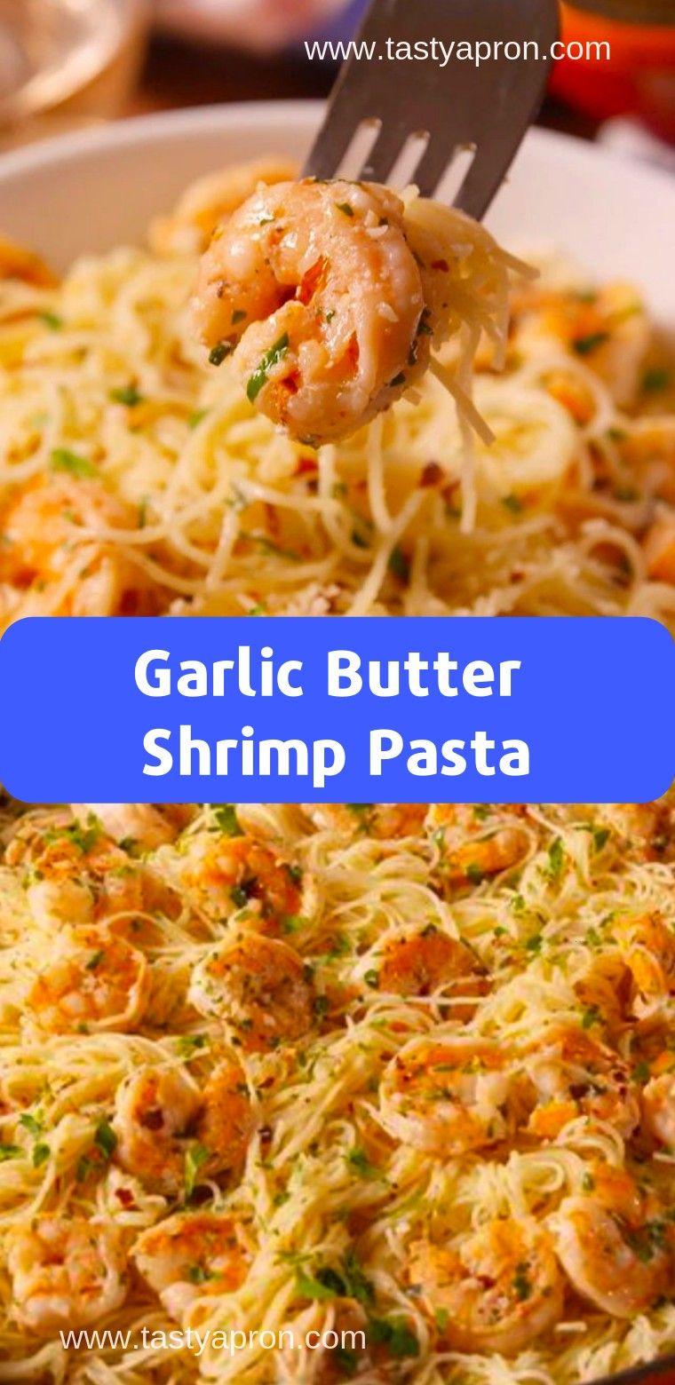 Photo of #recipebutter #garlic #butter #shrimp #recipe #pasta