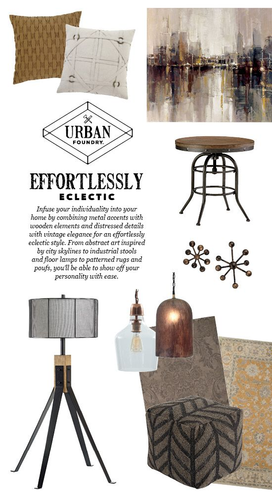 Eclectic Accessories Urban Foundry™ Ashley Furniture Amazing Urban Foundry Pouf
