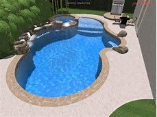 swimming pool beach entry - Bing images