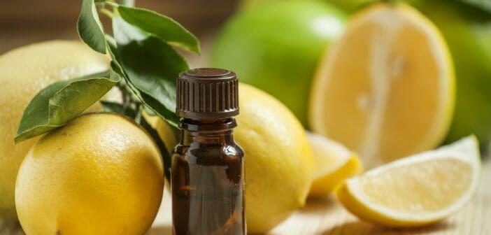 L'huile essentielle de citron est-elle efficace pour