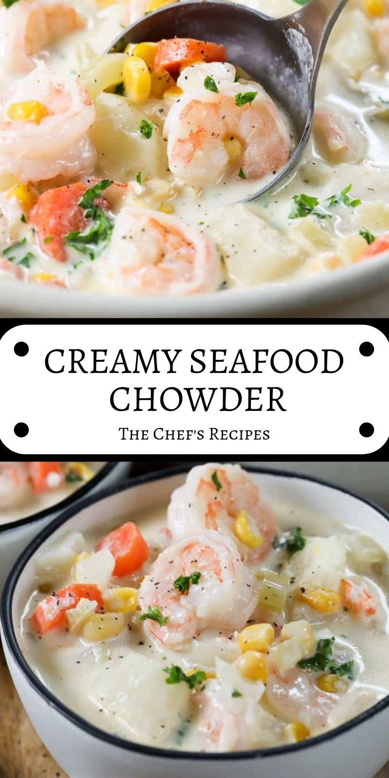 Hipertekin: CREAMY SEAFOOD CHOWDER #seafoodstew