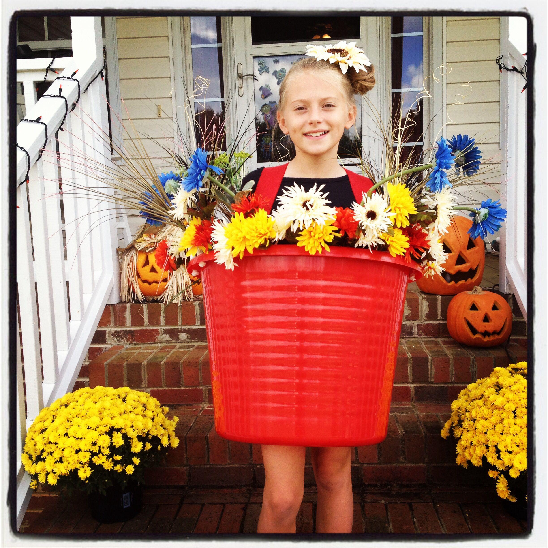 Homemade Halloween Costume For My Little Girl