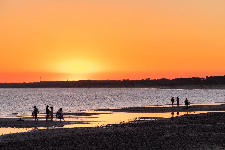 Sunset silouhettes Landscape, Landscape photography, Sunset