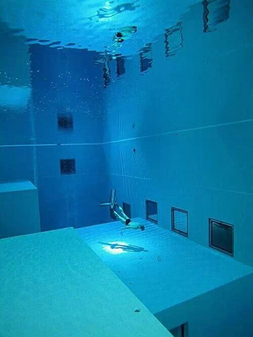 Deepest Pool In The World Belgium Deepest Swimming Pool Indoor