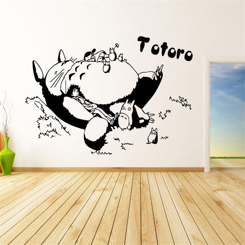 Totoro Wall Sticker For Kids Room Home Decoration