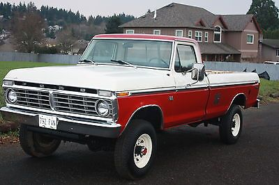 1974 Ford F250 4x4 4sp High Boy 60k All Original Truck Ford