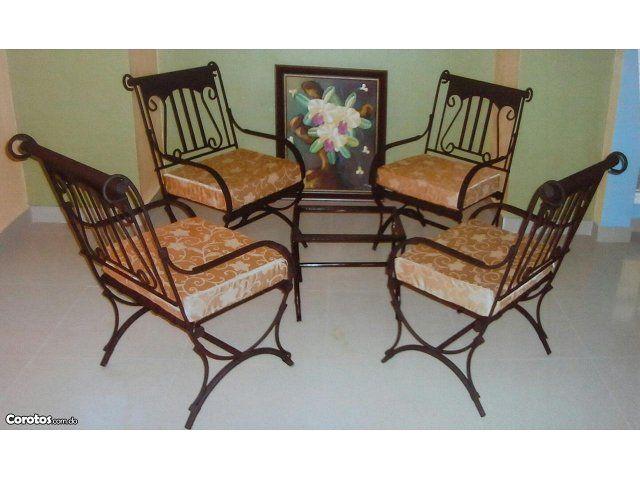 juegos de muebles en hierro - Buscar con Google | sillas | Pinterest ...