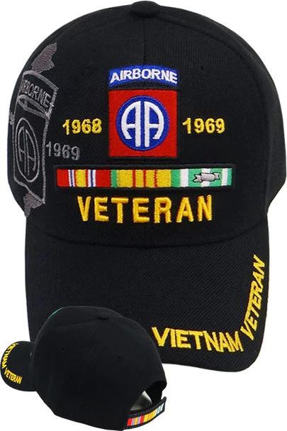 VIETNAM VETERAN CAP 82ND AIRBORNE DIVISION