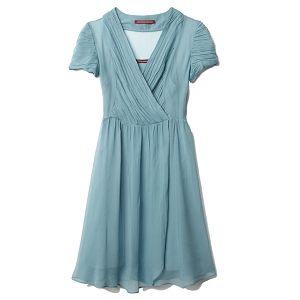 Robe turquoise comptoir des cotonniers