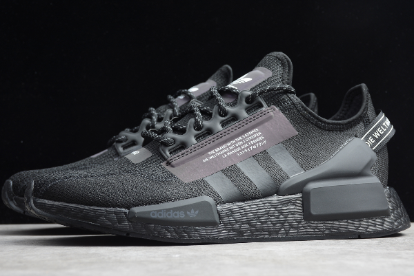 2020 Adidas NMD R1 Boost V2 Triple Black FW1961 For Sale in ...
