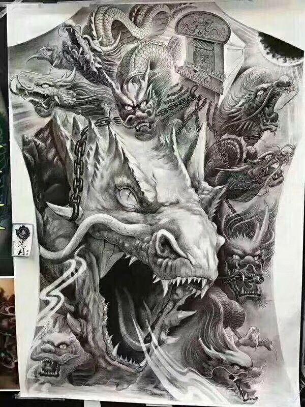 pin by exclusive lederkunst on drachen und asiatisch pinterest tattoo dragons and tatoo