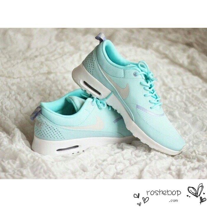 Nike Air Max Thea Womens Mint Green White - Nike Air Max
