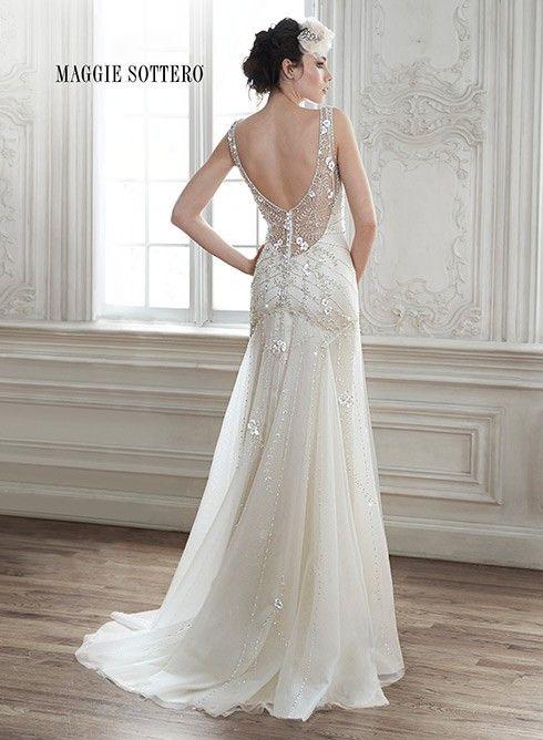 Maggie Sottero Demi New Wedding Dress   Still White Australia   yas ...