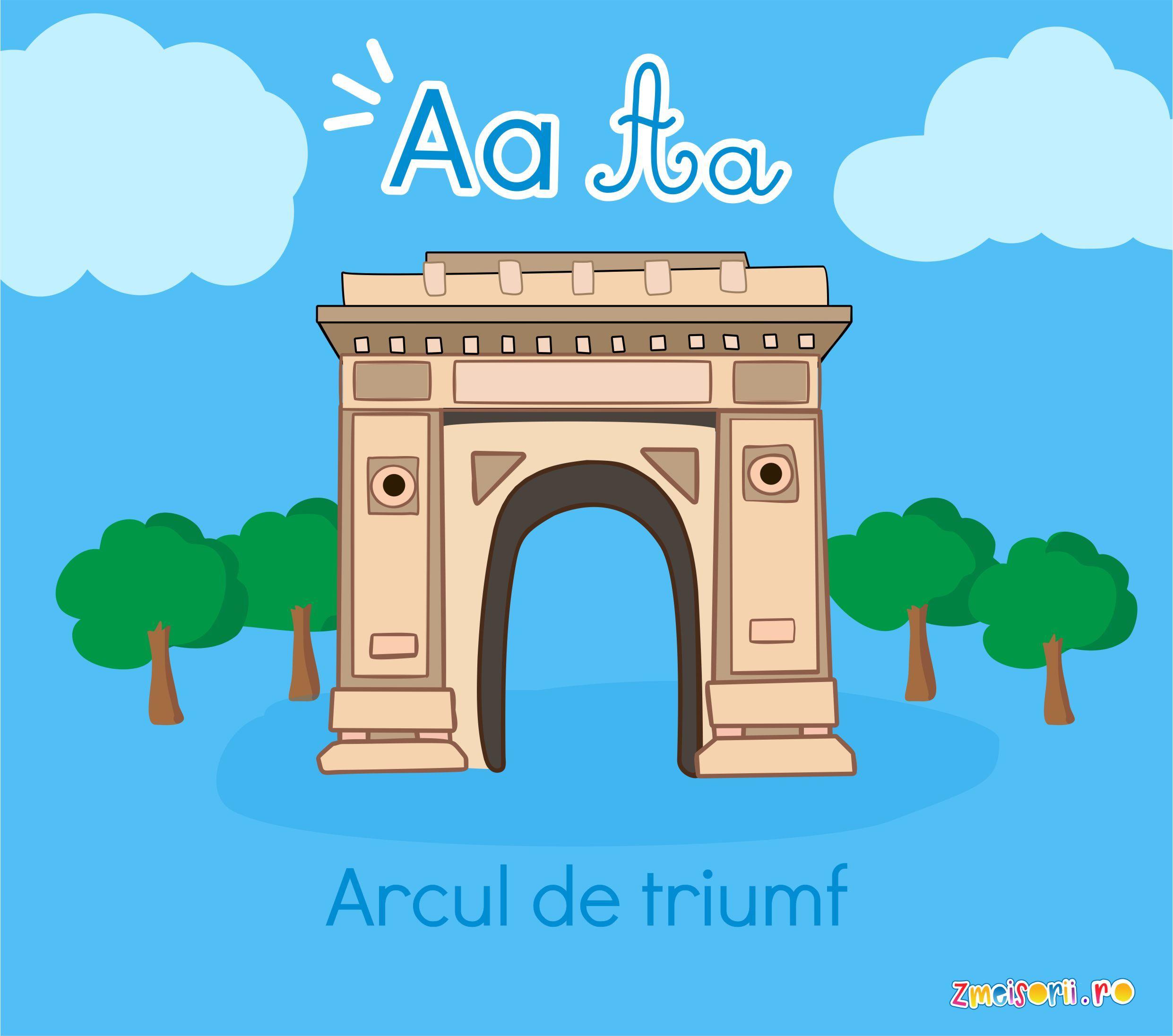 Descoper Romania De La A La Z Arcul De Triumf