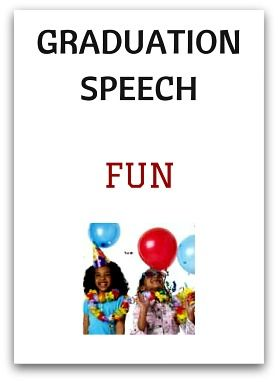 Kindergarten Graduation Speech Fun  Graduation Lines