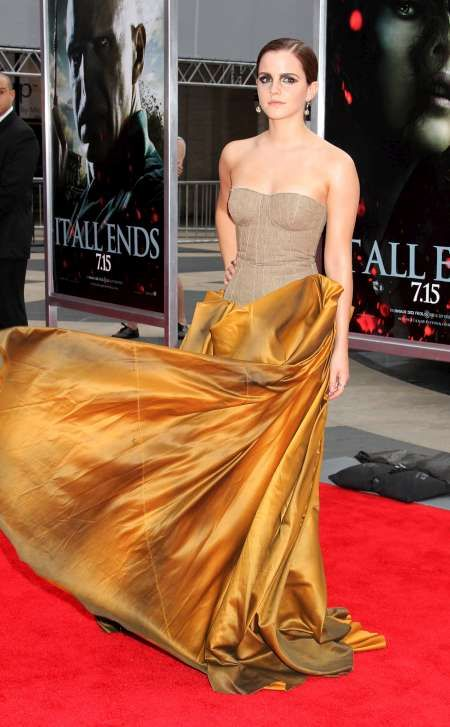 Emma Watson Belle Beauty And The Beast Dress