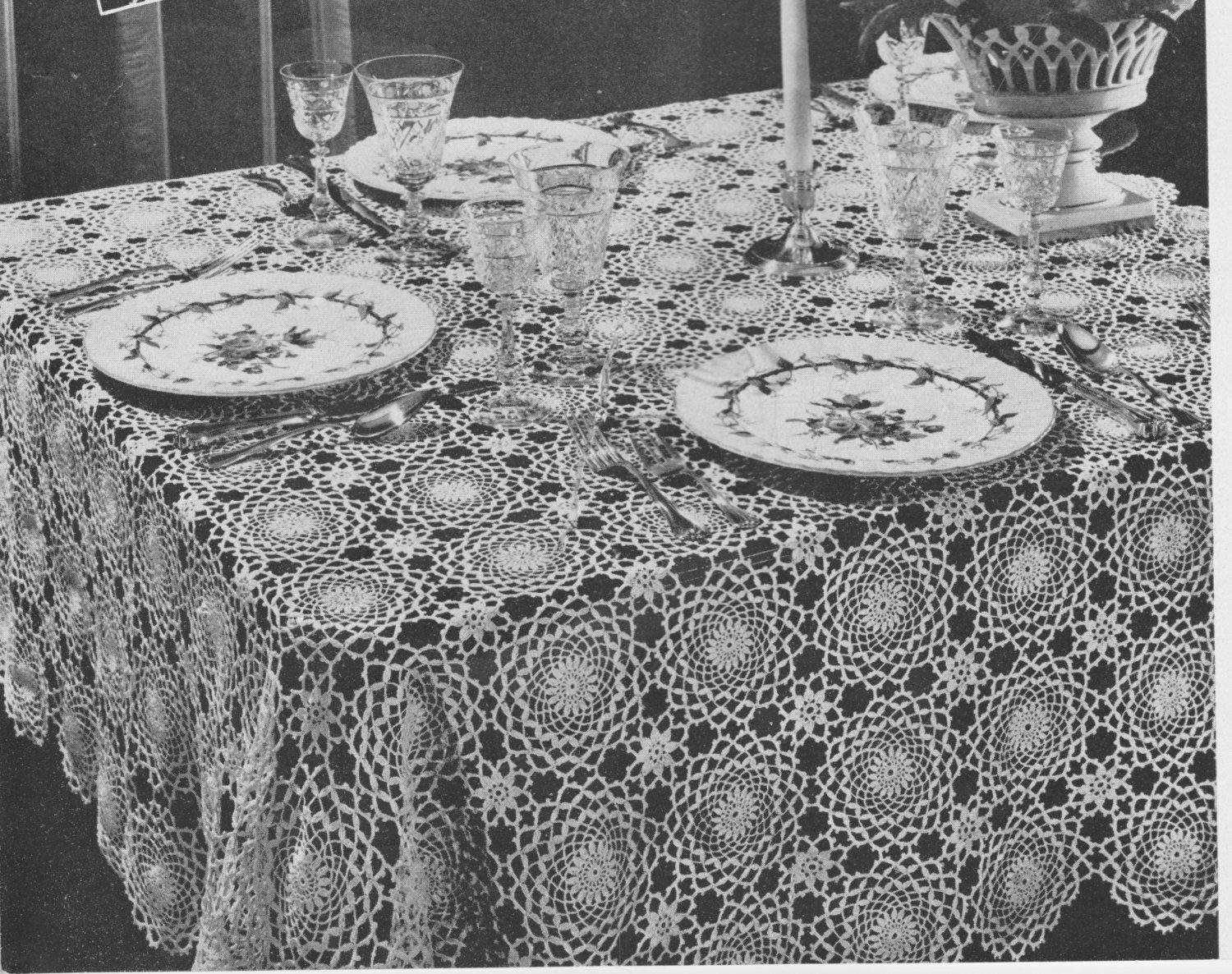 crochet booties pattern baby booties pattern crochet hat pattern 397 vintage 1940 s tablecloth crochet pattern retro home decor dining table free patterns housewarming gift pdf instant download